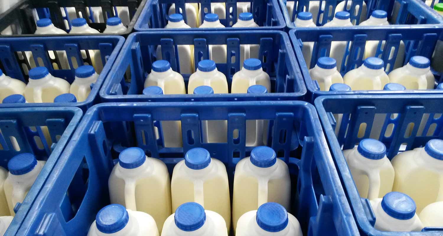 Milk and more for delivery across the Brecon Beacons