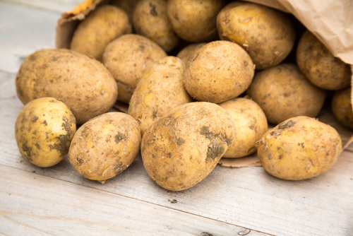 Get your potatoes delivered by Brecon Milk