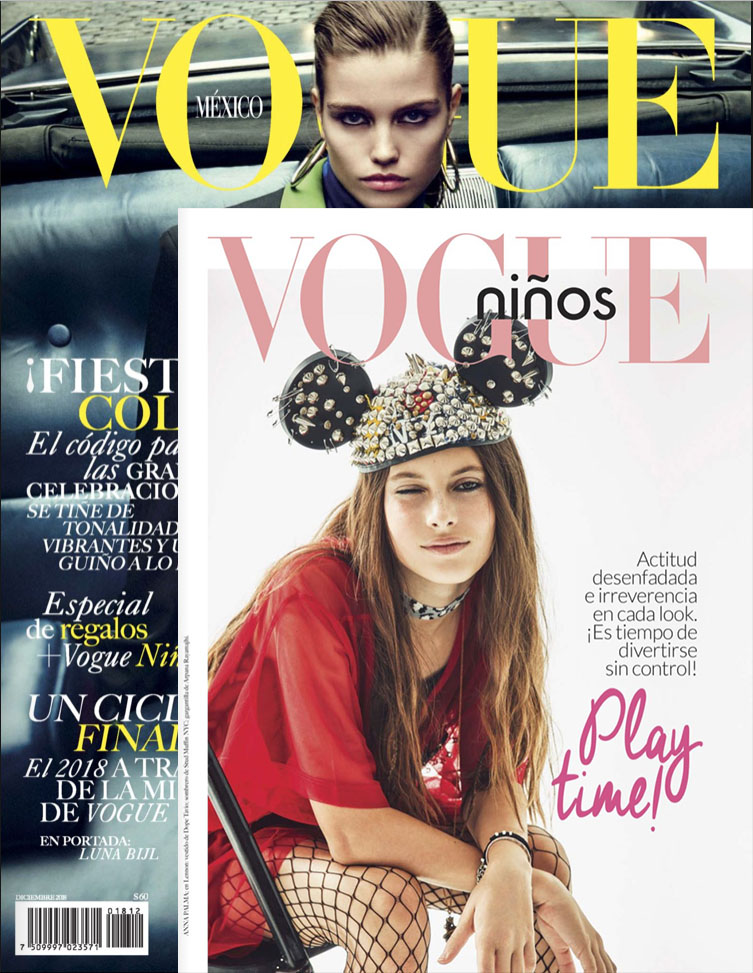 VOGUE MEXICO { NiNOS } : December 2018