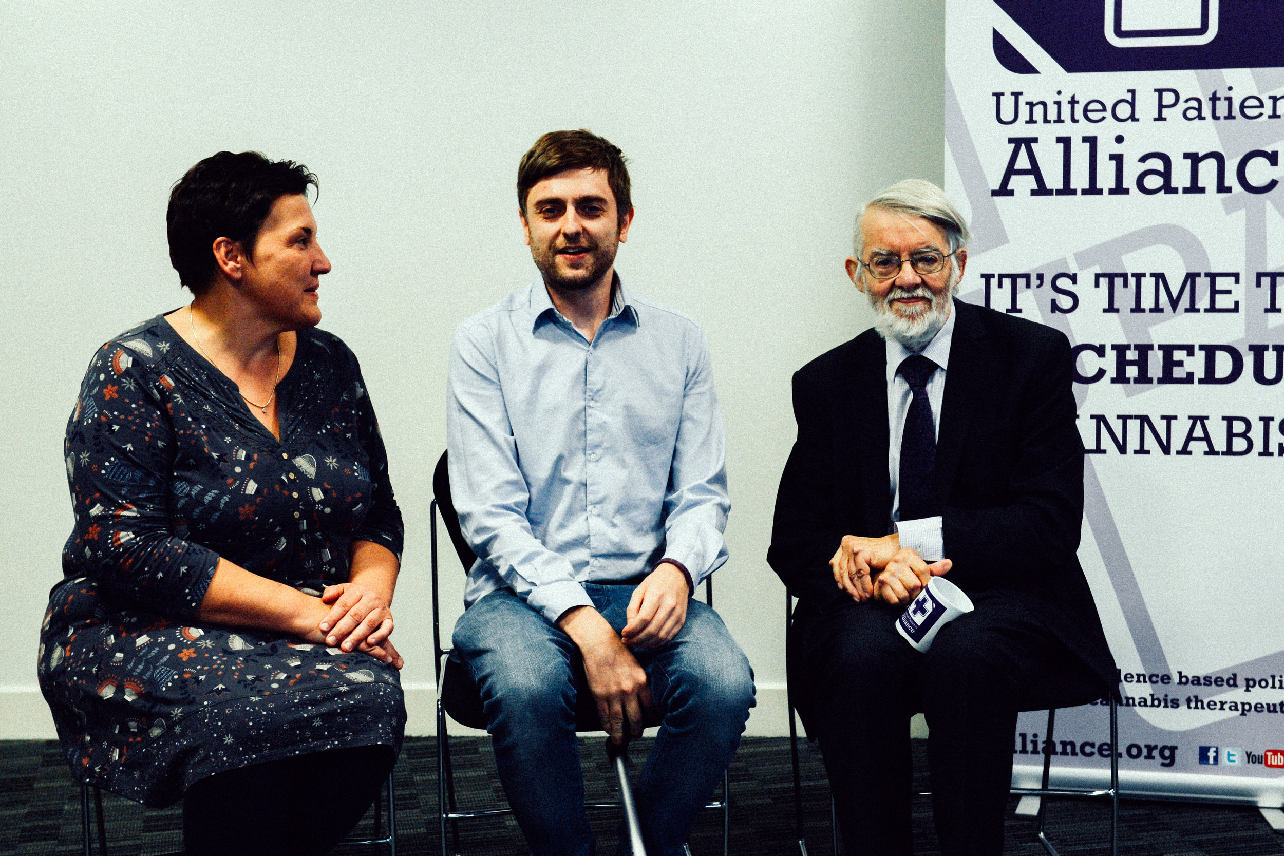 Tonia Antoniazzi MP for Gower, Clark French, Founder and Director UPA, Paul Flynn MP