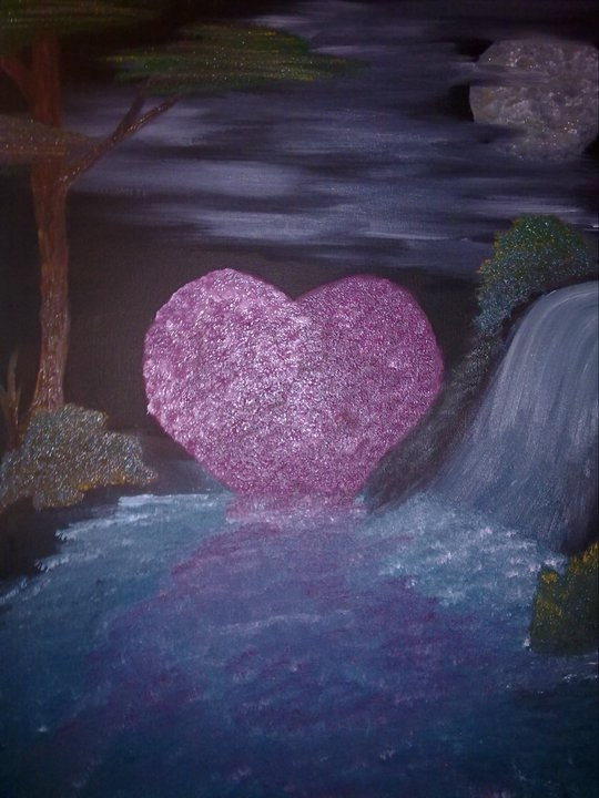 Valentines  Oil on canvas