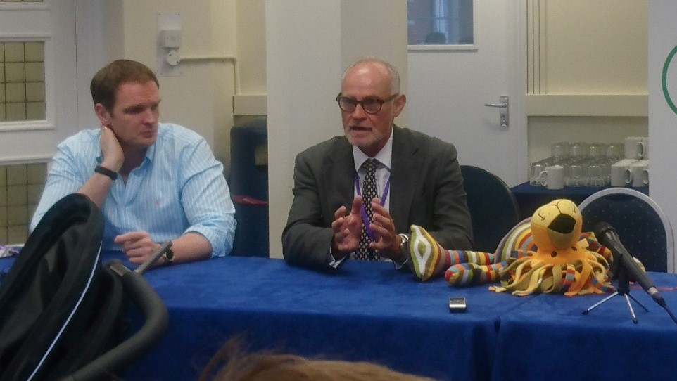 Dr Dan Poulter MP and Crispin Blunt MP