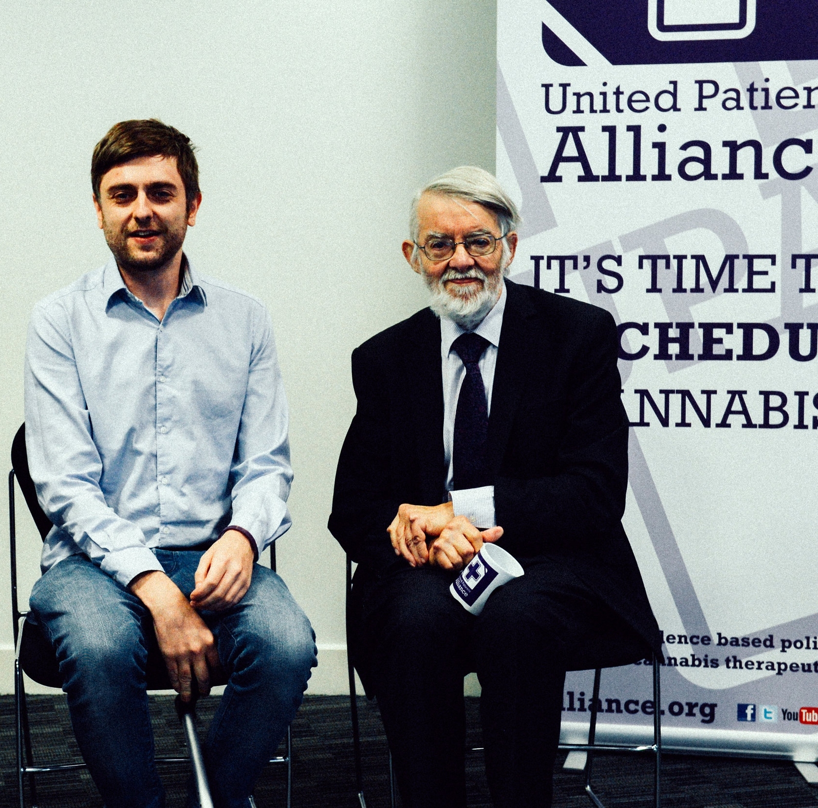 Clark French and Paul Flynn MP - UPA AGM - Bham 2017