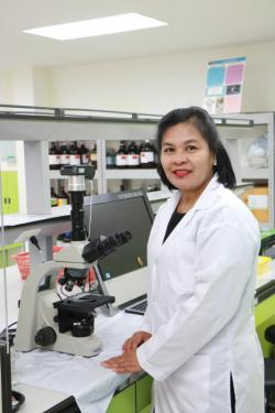Assoc Prof Dr Narisa Kamkaen. Photo courtesy of Rangsit University