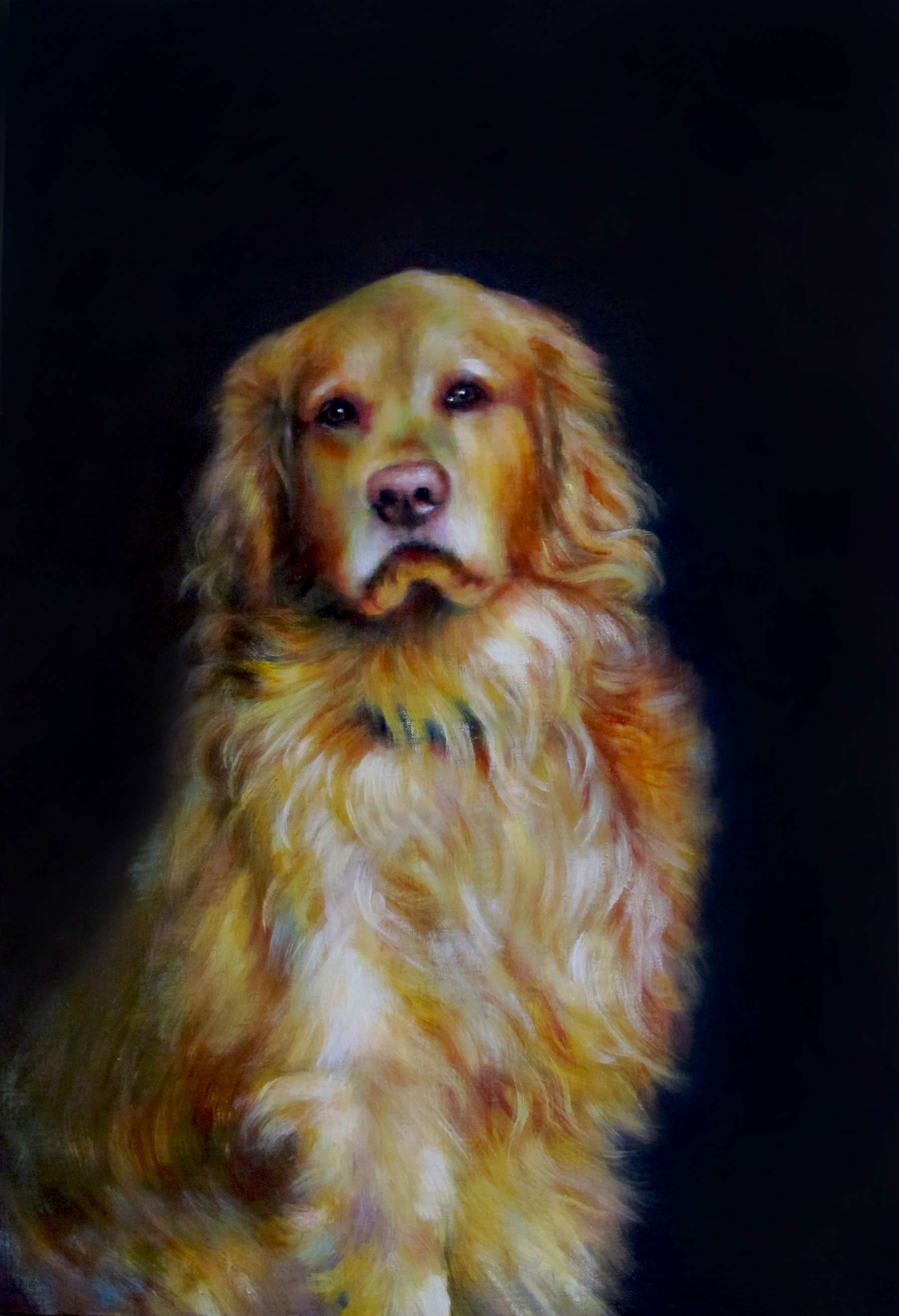 Completed Portrait of Beau