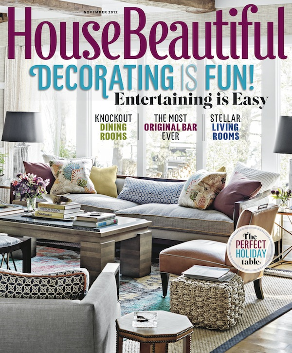 House Beautiful, November 2012