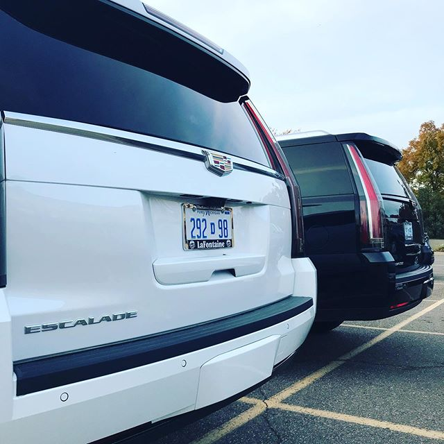 Thanks to LaFontaine for providing our speaker shuttles for yet another year! #HeroRT #lafontainecadillac