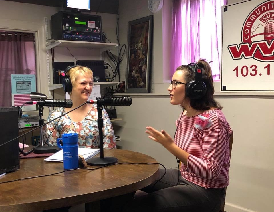 living out a passion - Teri hosts a radio show on WVLP, Extraordinary Transformation and features guests who are catalysts for changing the world, one person at a time.