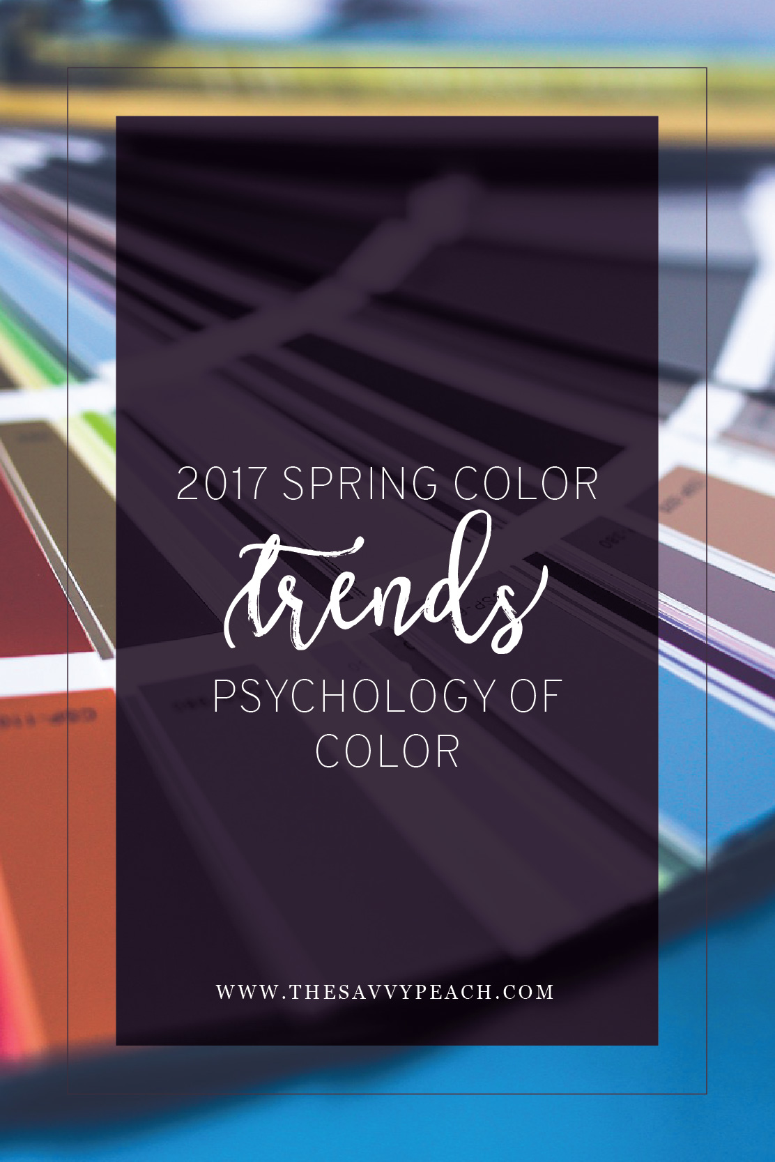 2017 Spring Color Trends
