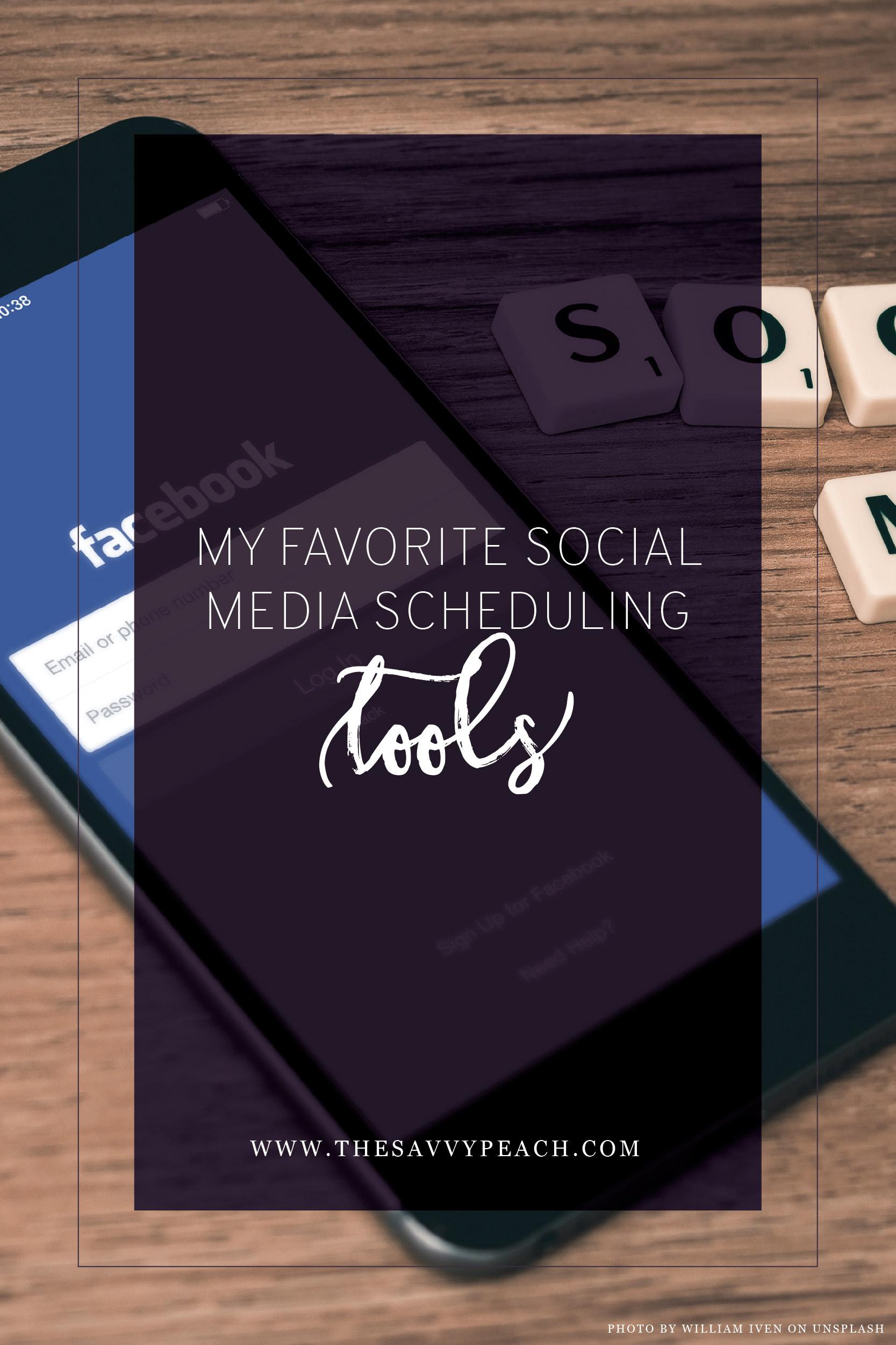 Favorite Social media schedulers