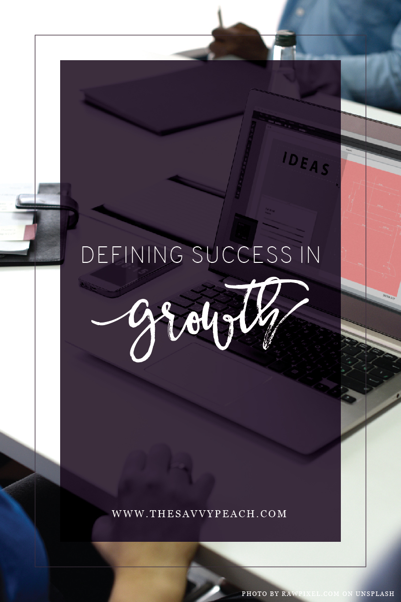 defining success in growth