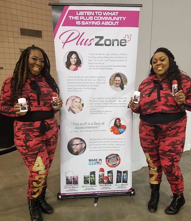 """""""Shout out to @tcfstyleexpo sponsor @gopluszone for supporting this year's #TCFSTYLEEXPO! Look how excited the…"""" using - Thank you @gopluszone for supporting this year's #TCFSTYLEEXPO! Look how excited the ladies from @4thirtytwo are with their @gopluszone products!"""