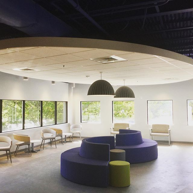 Really proud of this modern waiting room remodel that we just completed at a medical practice in Annapolis. #annearundelcountyconstruction #marylandcontractors #jcporterbuilt #medicalconstruction #waitingroom #medicalwaitingroom #modernwaitingroom