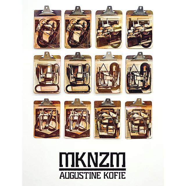 Shots from #AugustineKofie current show #MKNZM at Swinton gallery in Madrid @keepdrafting @swintonandgrant