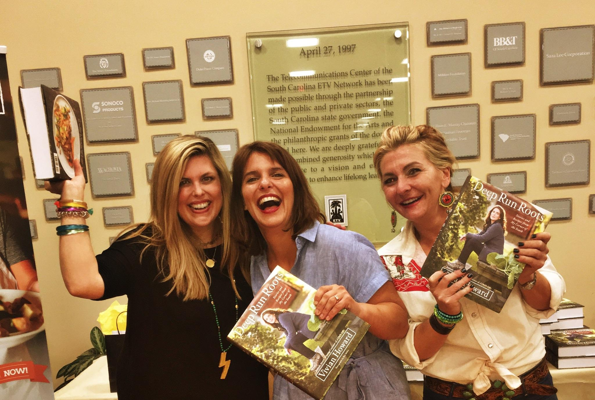 The moment I learned bestseller news with my buddies - Elizabeth Pearson & Cydney White in Columbia, SC