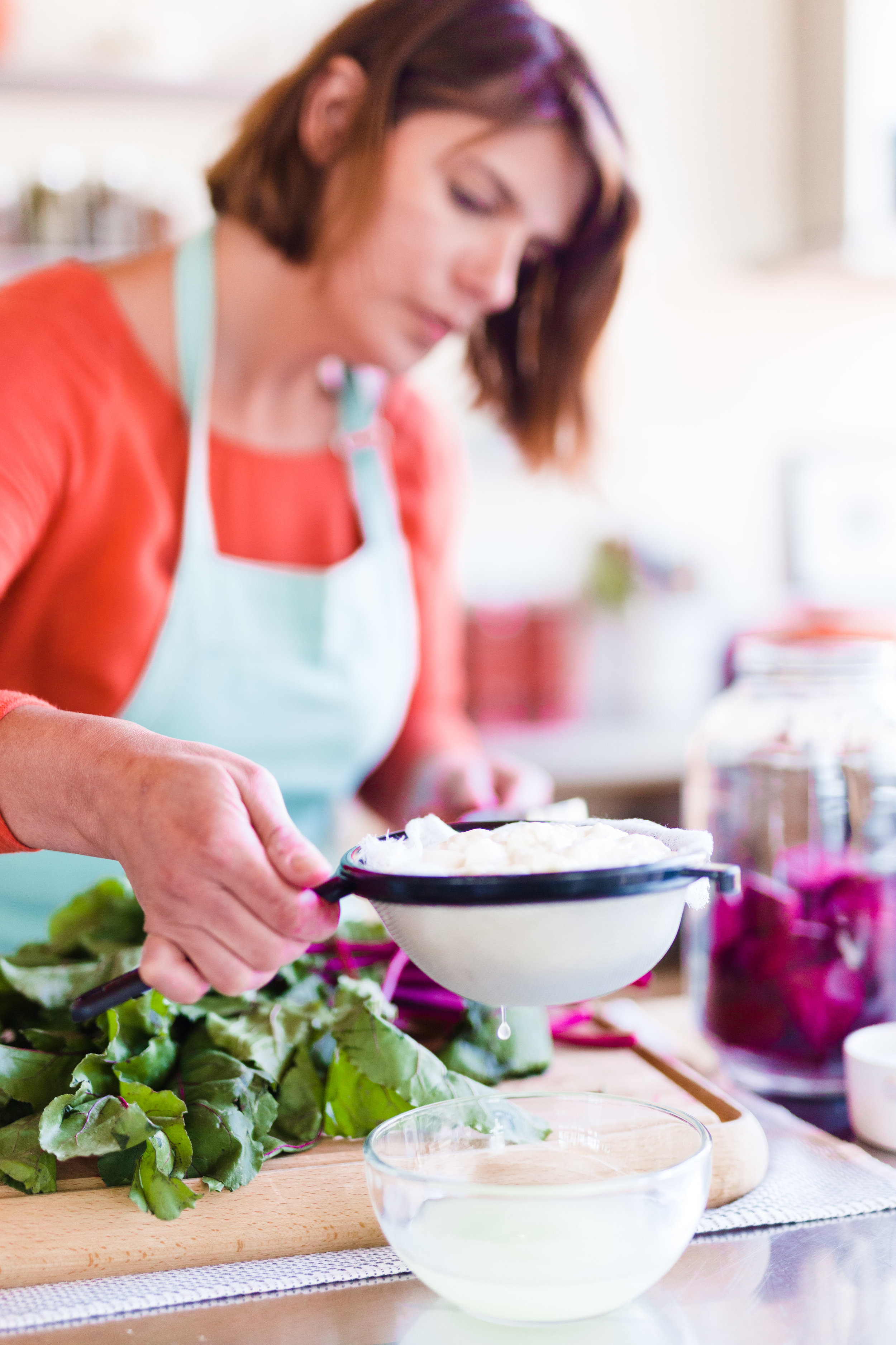 beet kvass vivian howard chefs life recipes photographs by baxter miller