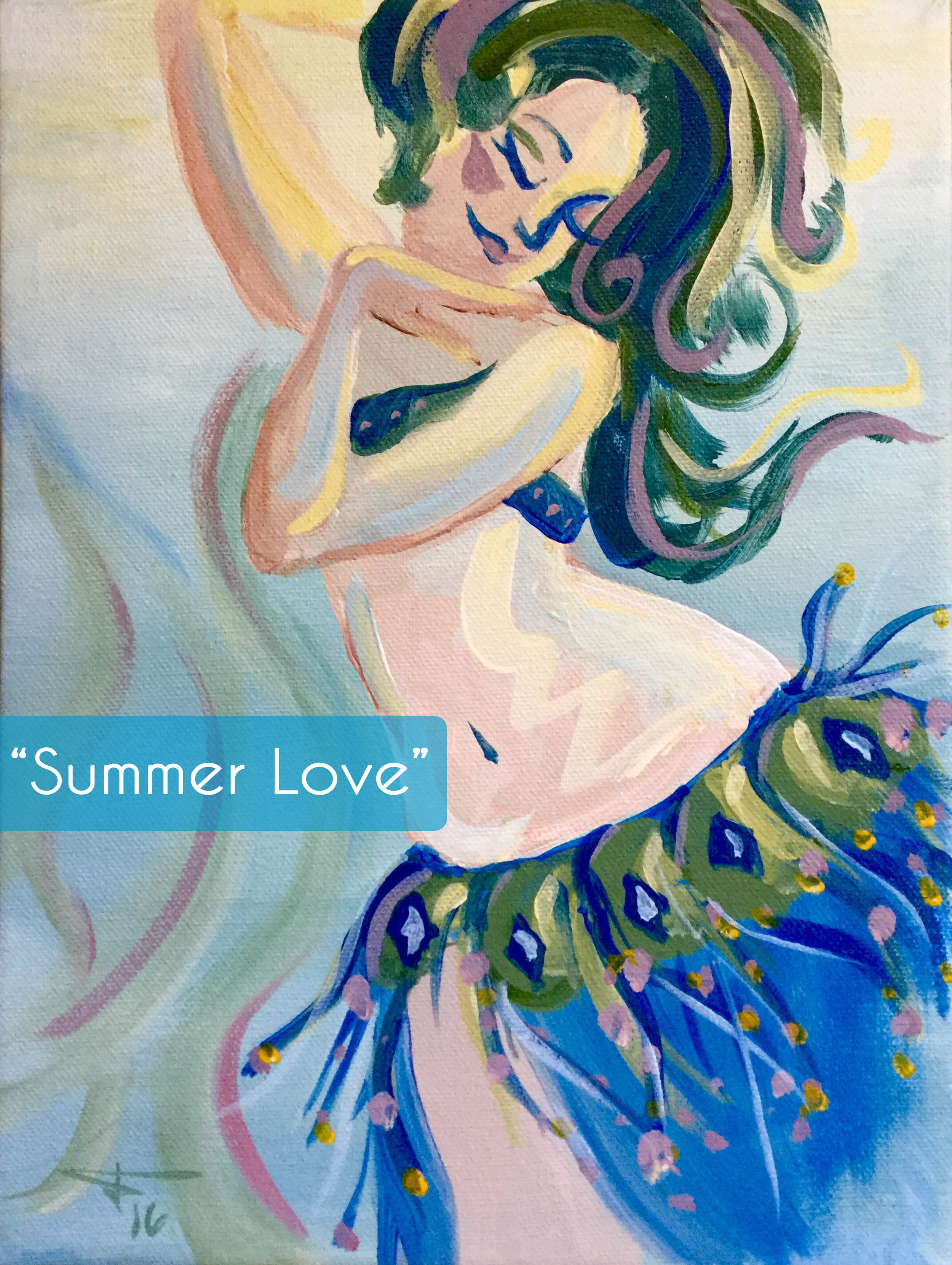 summer love painting party