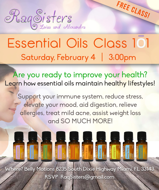 essential oils raqsisters feb 2017