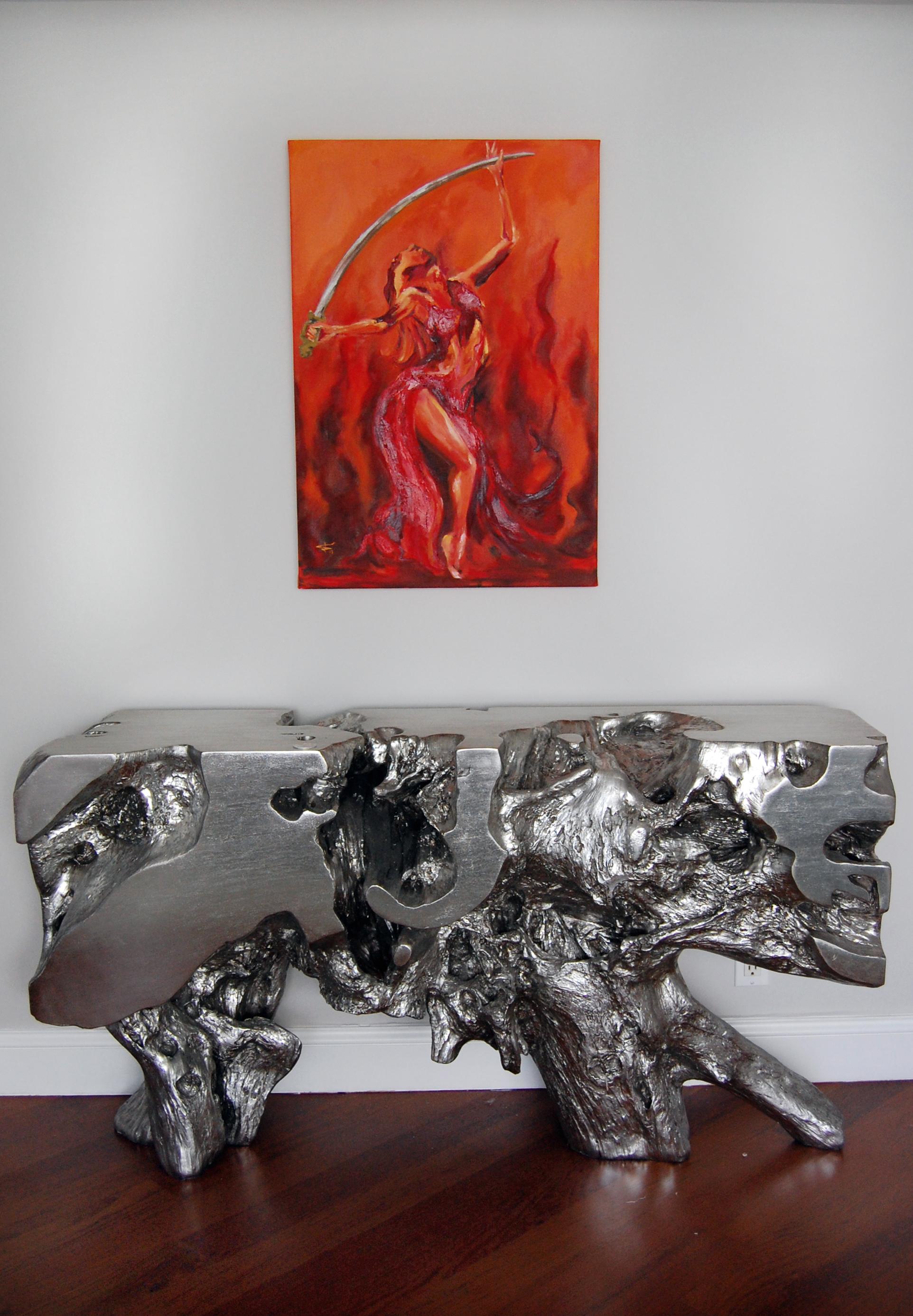 Sword Belly Dancer Painting