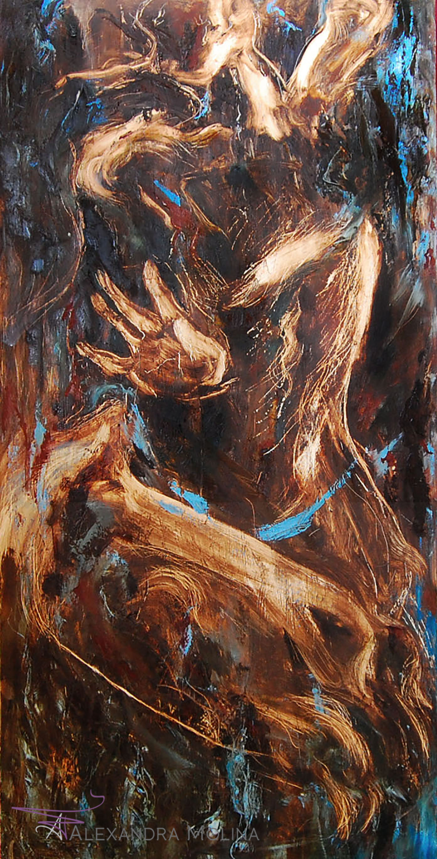 Drum Solo,  2012   Oil on canvas - inquire for cost