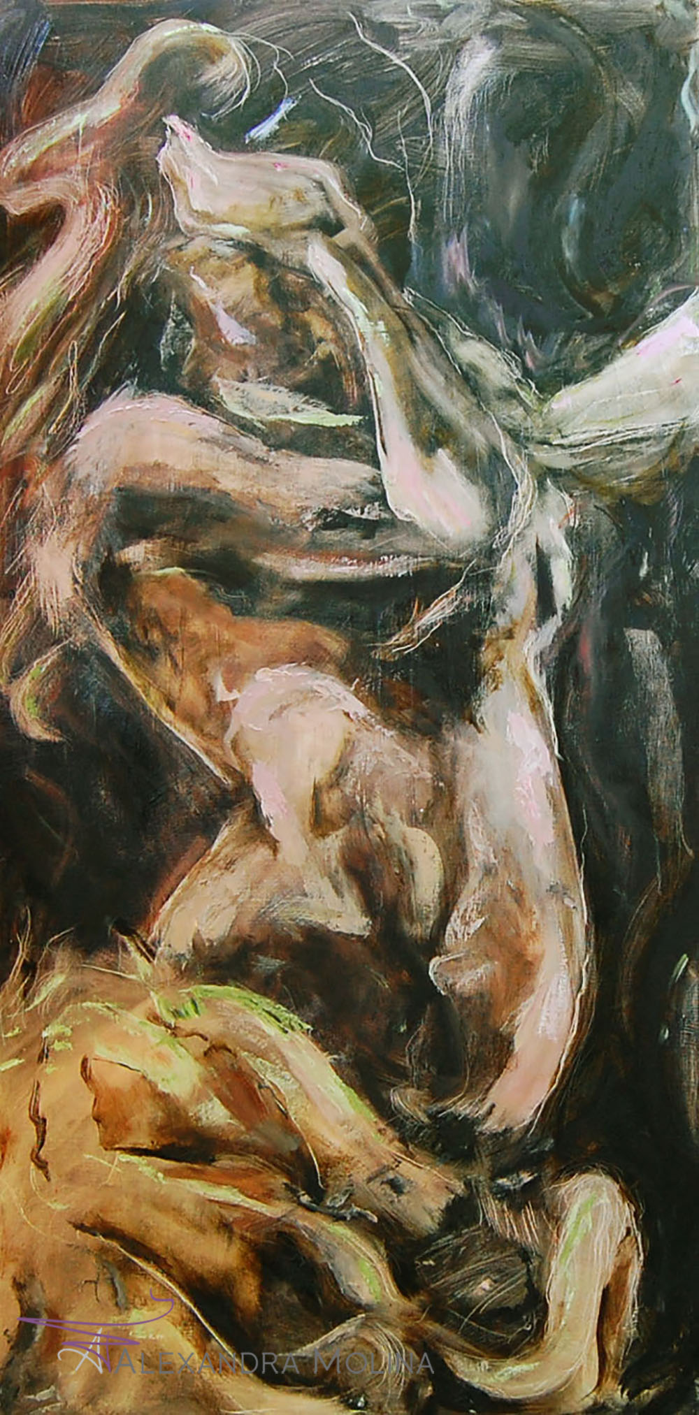 Internal,  2012   Oil on canvas - inquire for cost