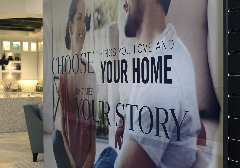 Custom Wallpaper for Design Center, Retail, San Antonio