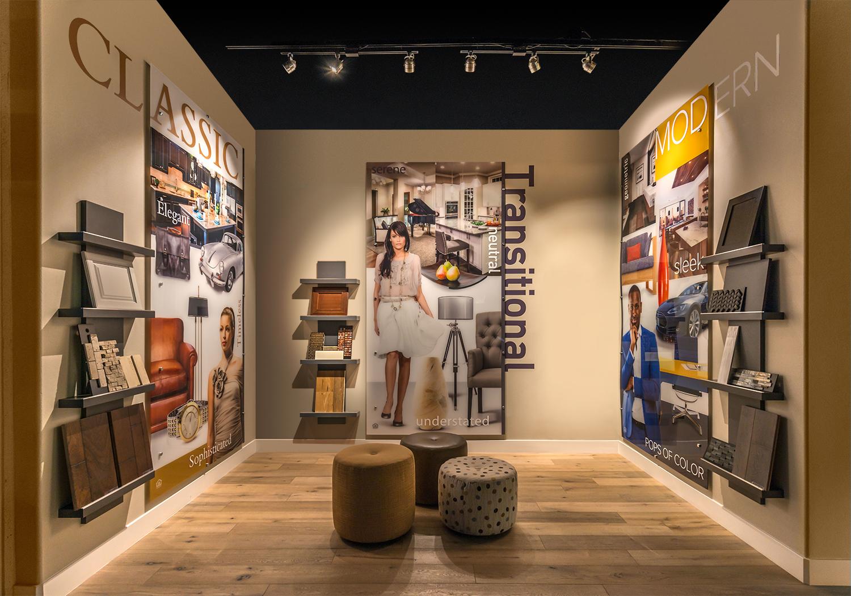 Environmental Display, Retail