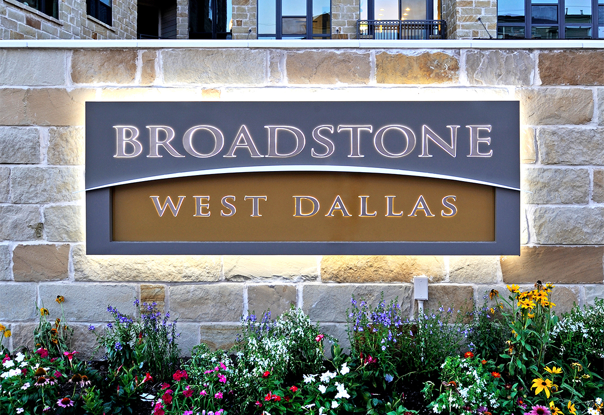 Residential Monument Sign