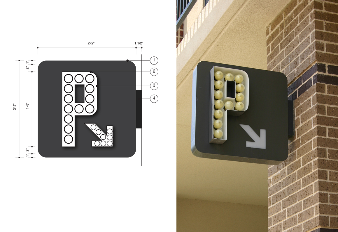 Multifamily Parking Signage in Houston