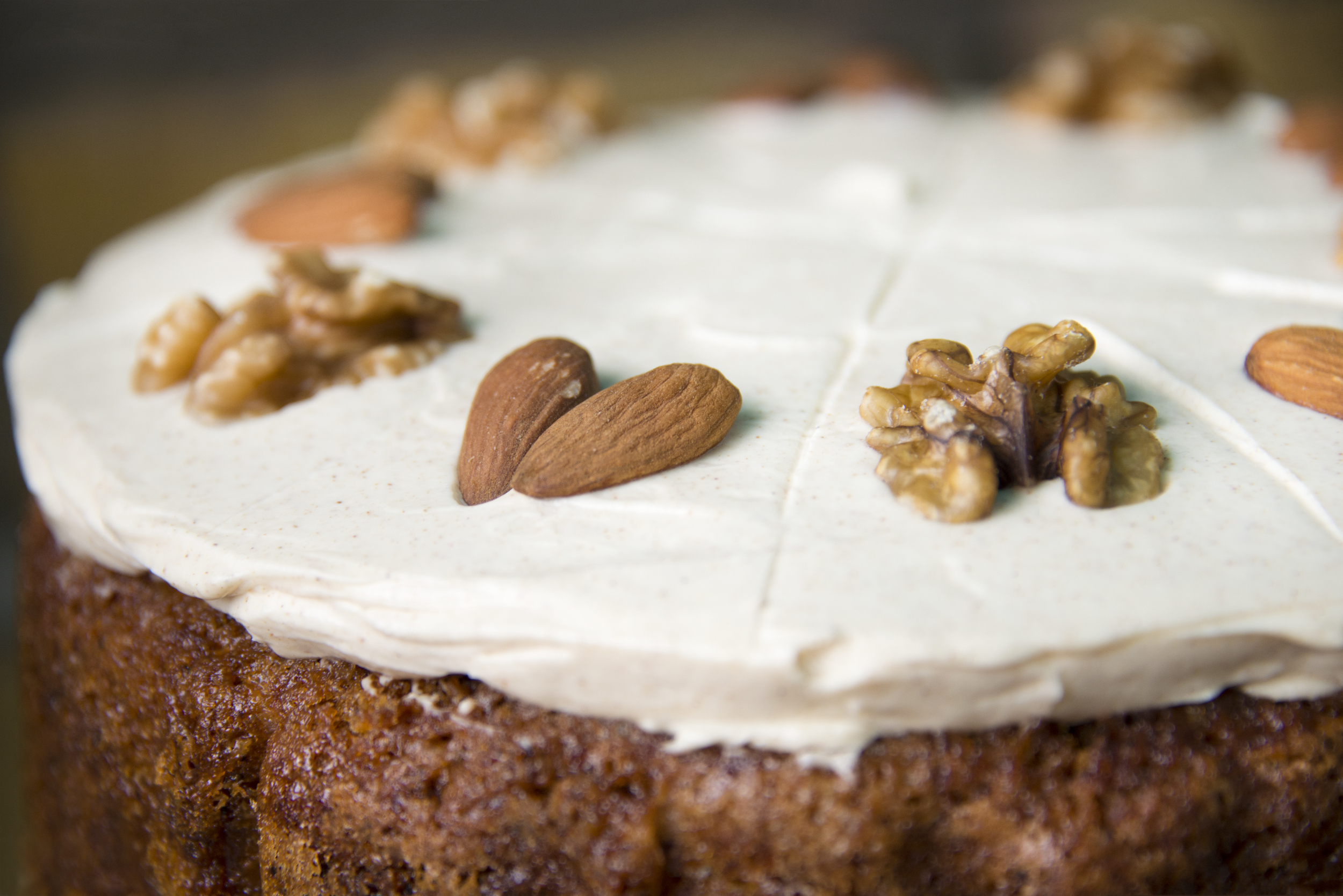 Carrot cake by Deer BELLY Home Bakery, London