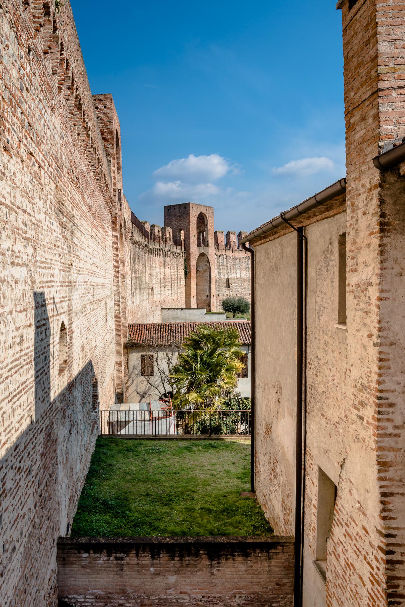 Porta Bassano view at the walls