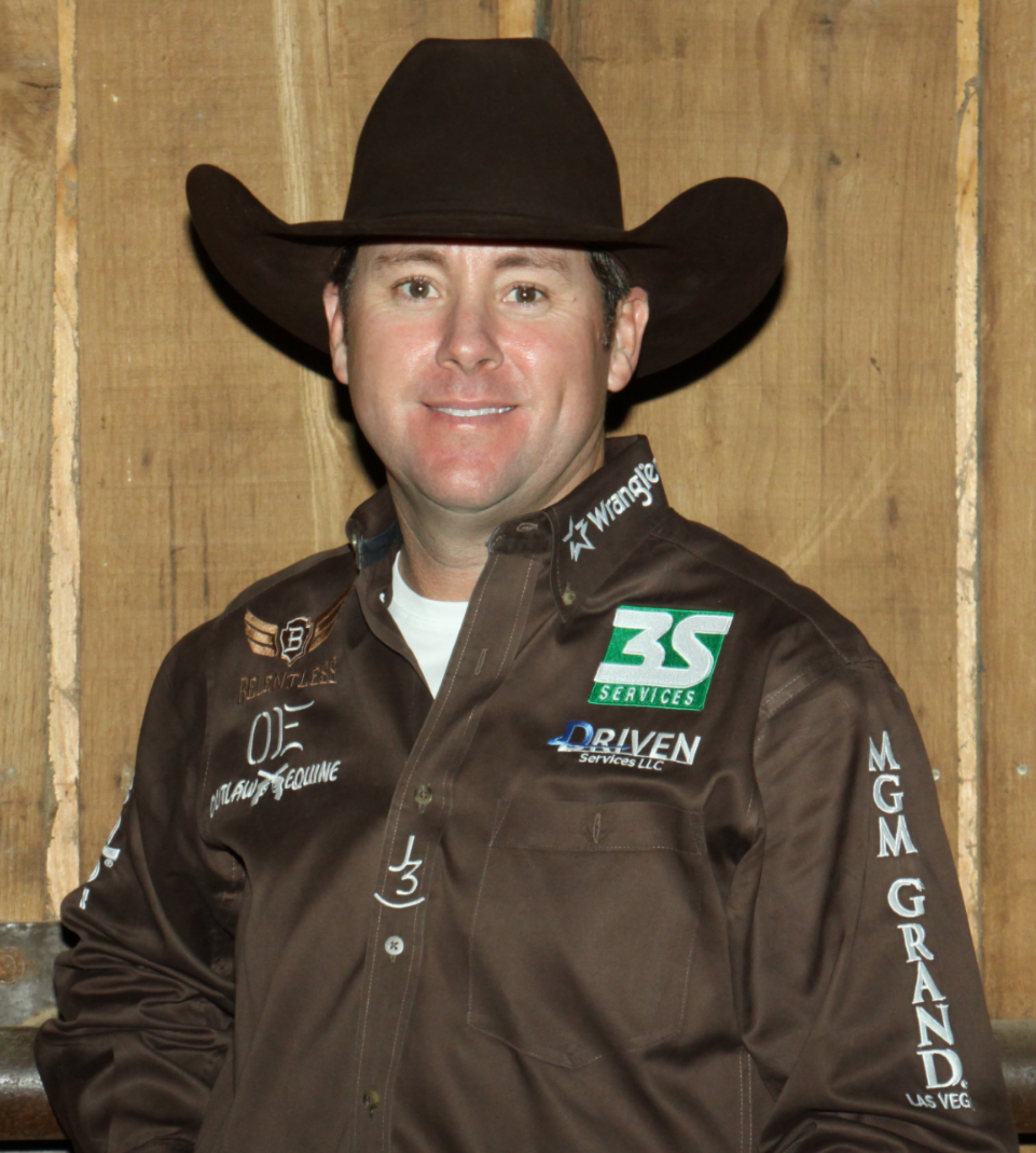 """Trevor Brazile   23 Time World Champion Cowboy  """"It's the only trailer manufacturer that I've found that doesn't cut any corners. They keep me on the road, because they are the best built trailer in the industry.""""   www.TrevorBrazile.com"""