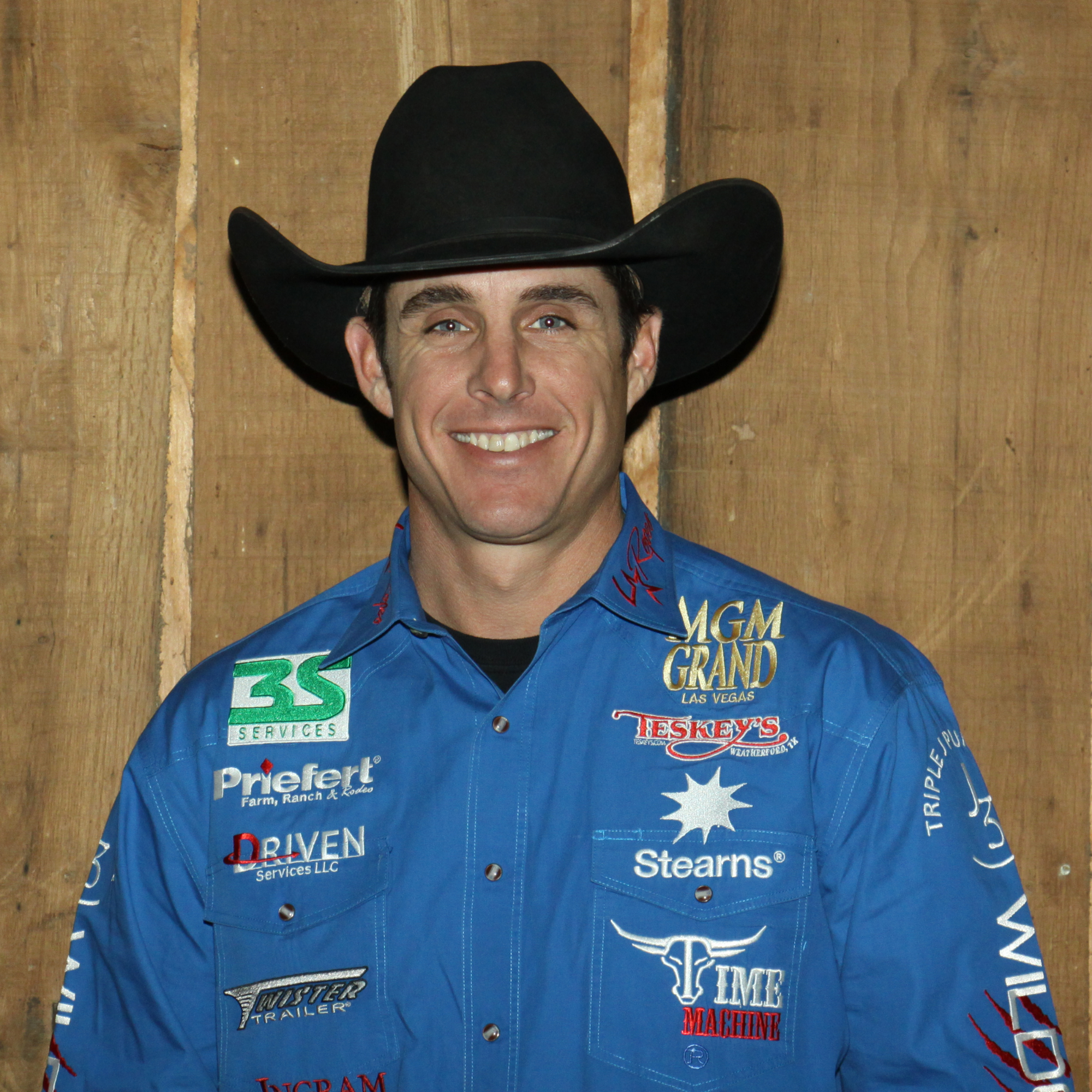 """Patrick Smith   2 Time World Champion Team Roper  """"Winning in rodeo takes a lot of hauling, and I needed a trailer that I could count on to be the best trailer out there, for my horses, and for my family. That's why it was easy to work with Twister Trailers. They are without a doubt the best built, nicest trailer on the market.""""   www.PatrickSmithRoping.com"""