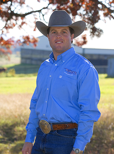 """Casey Deary  NRHA Futurity & Derby Champion  """"It's the only trailer manufacturer that I've found that doesn't cut any corners. They keep me on the road, because they are the best built trailer in the industry.""""   www.DearyPerformance.com"""