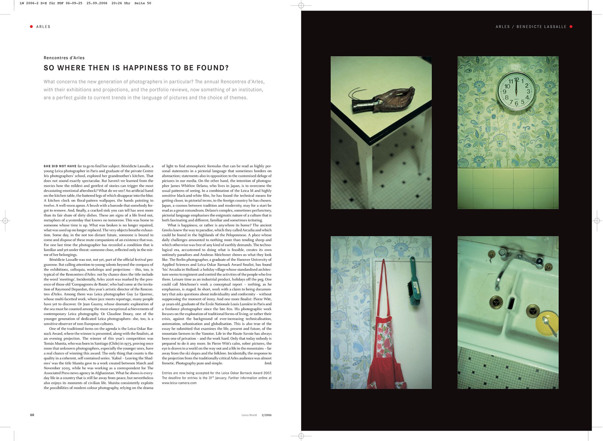 Publications Benedicte Lassalle Photography