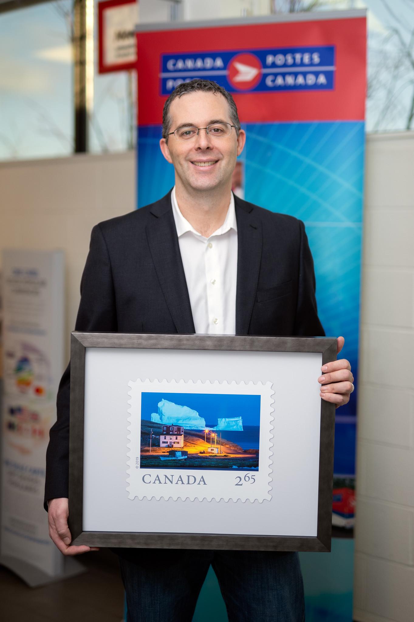 International Canadian Postage Stamp