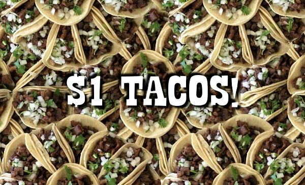 $1 Taco Tuesday