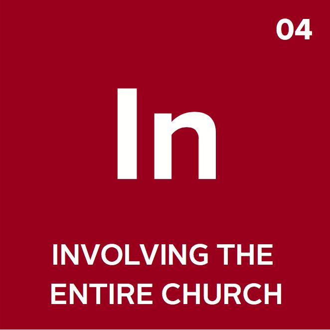 Element 04: Involving the Entire Church