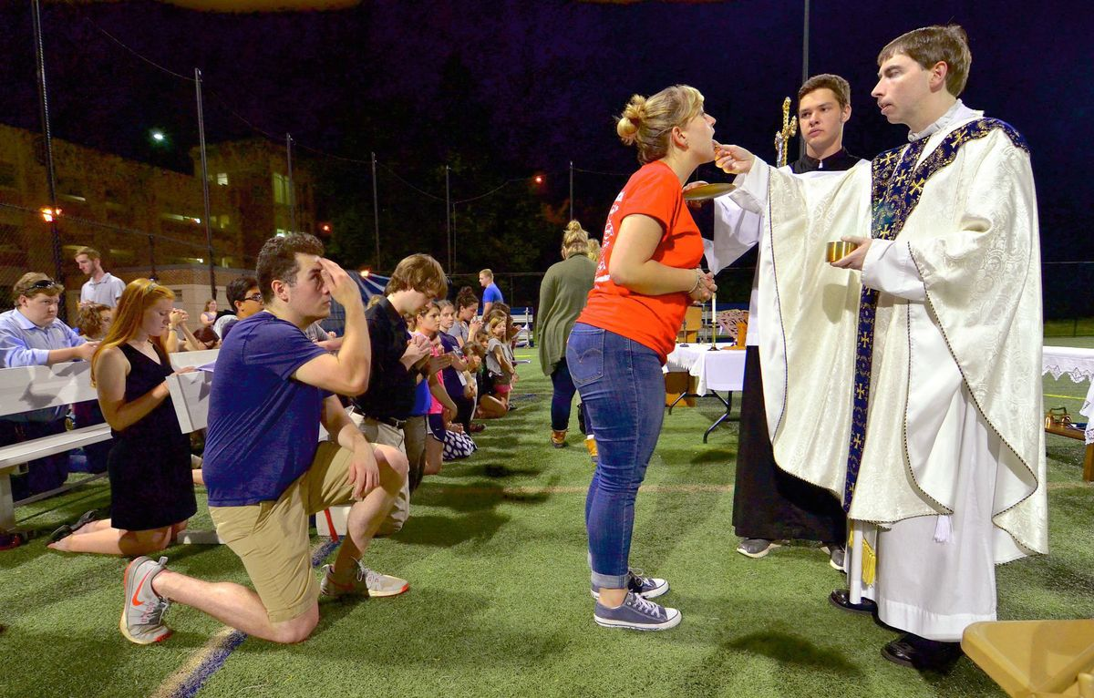 First Ever Mass for Athletes - April 28, 2017