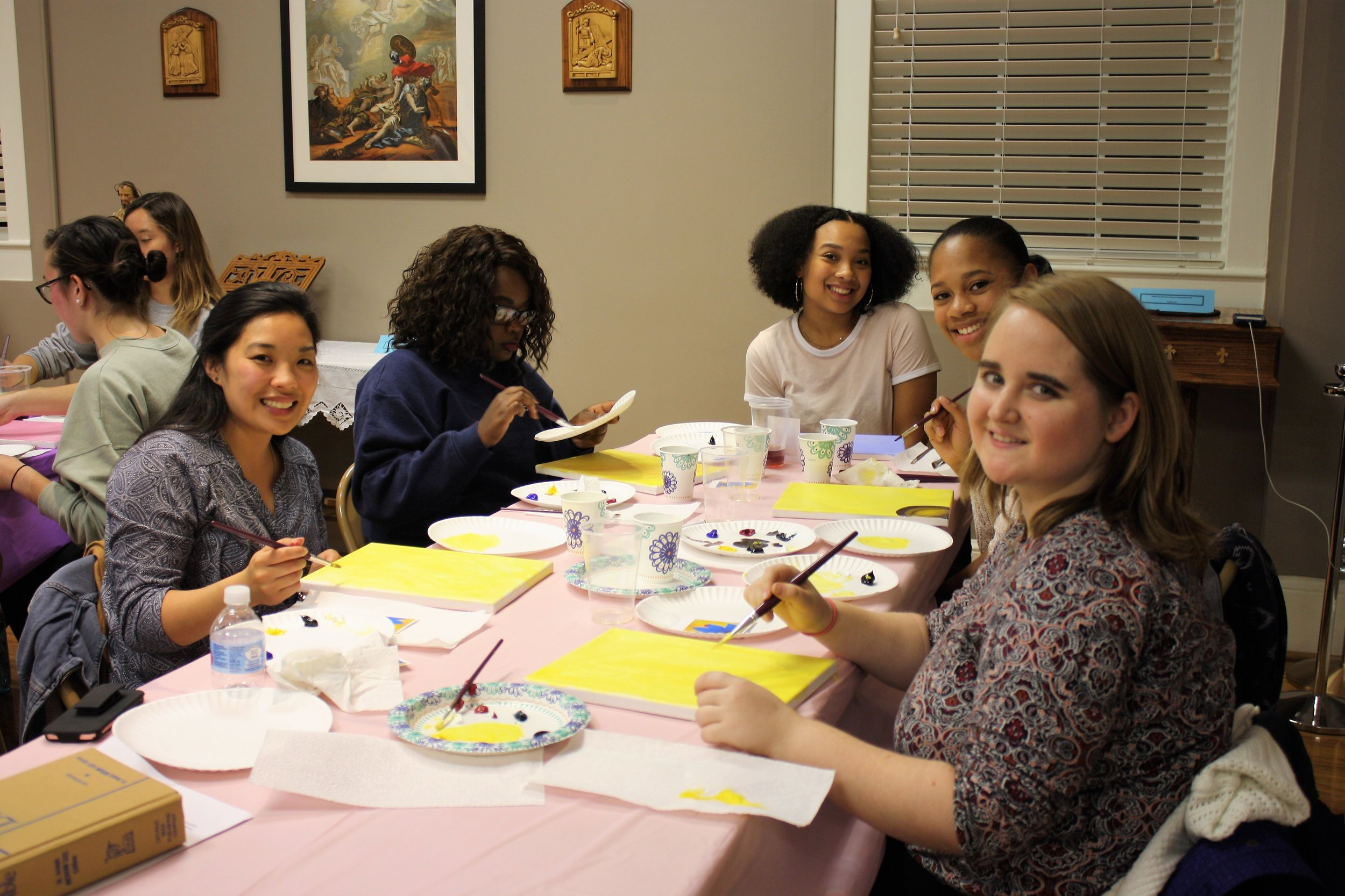 Women's Paint and Formation Night