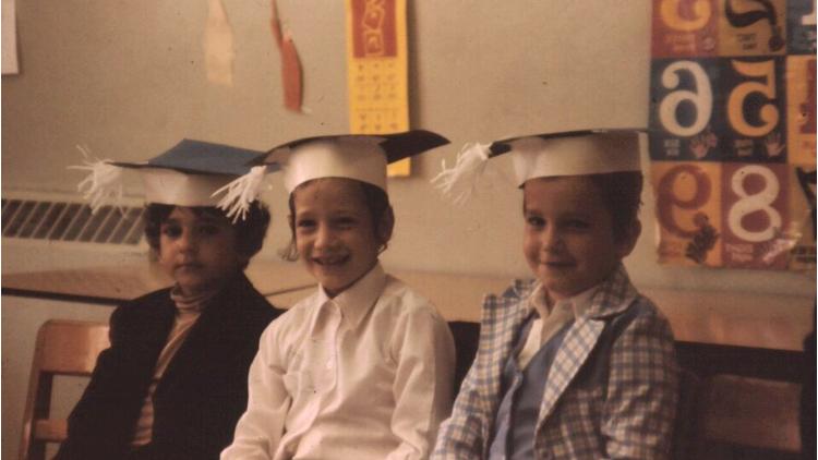 Pinny at his Kindergarten Graduation