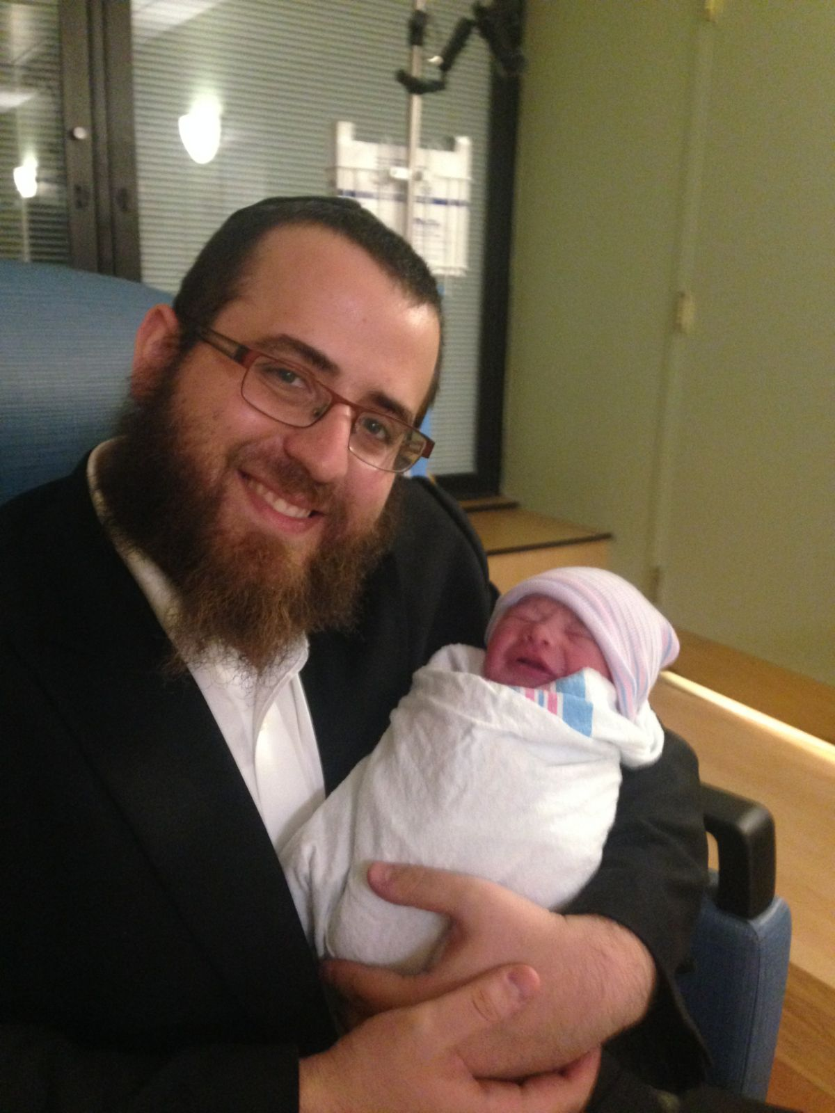 Mendel at the birth of his first son