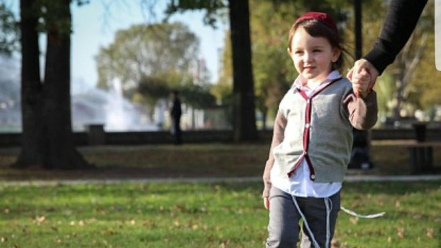 Sholom, Age 2
