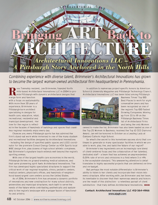 _AI article in Northern Connection October 2016.PNG