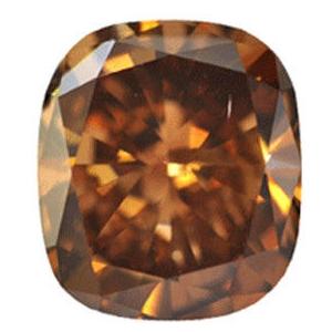 1.18ct Cushion Cut Diamond, Si1, Light Yellowish/Brown, GIA - eBay