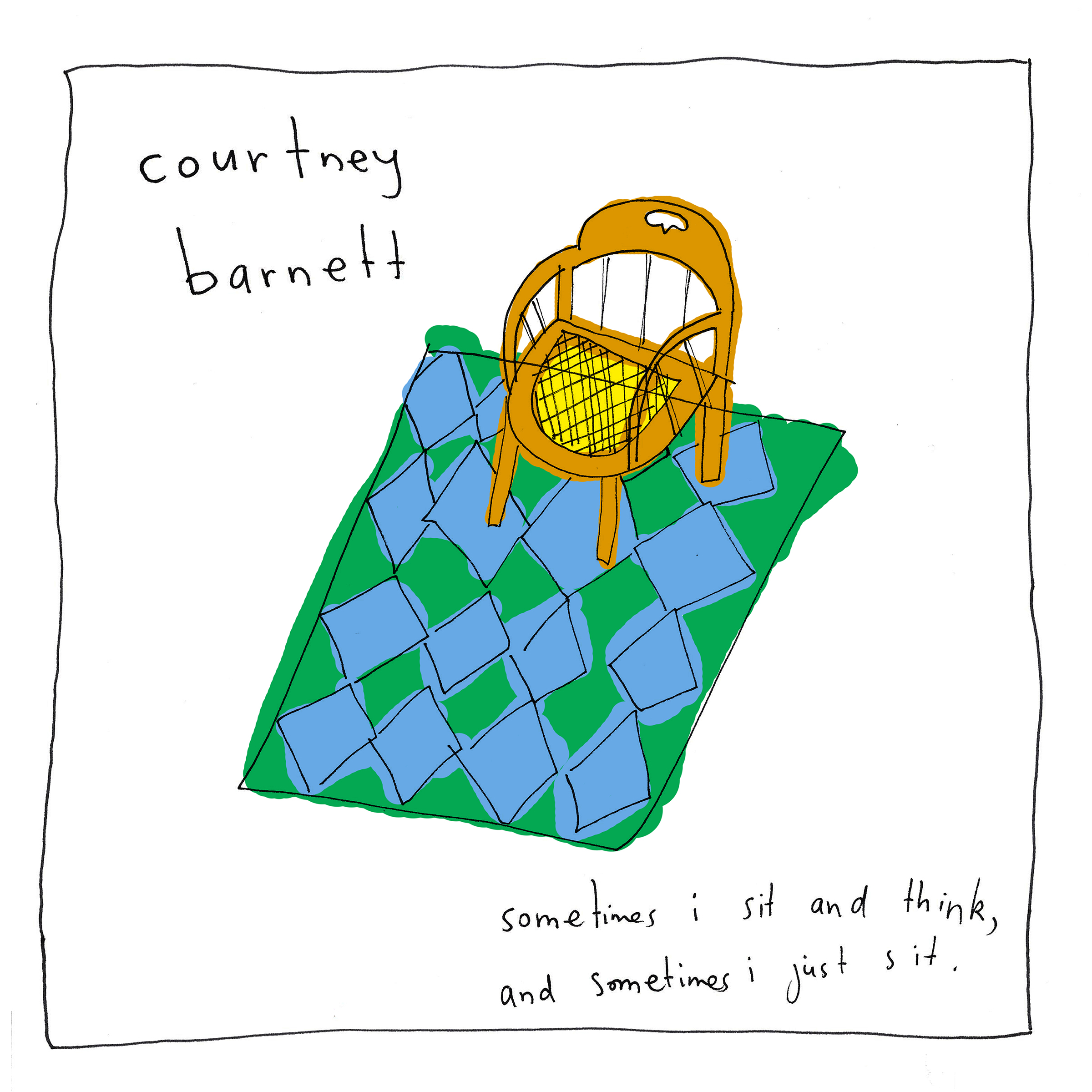 Courtney Barnett 'Sometimes I Sit And Think And Sometimes I Just Sit'