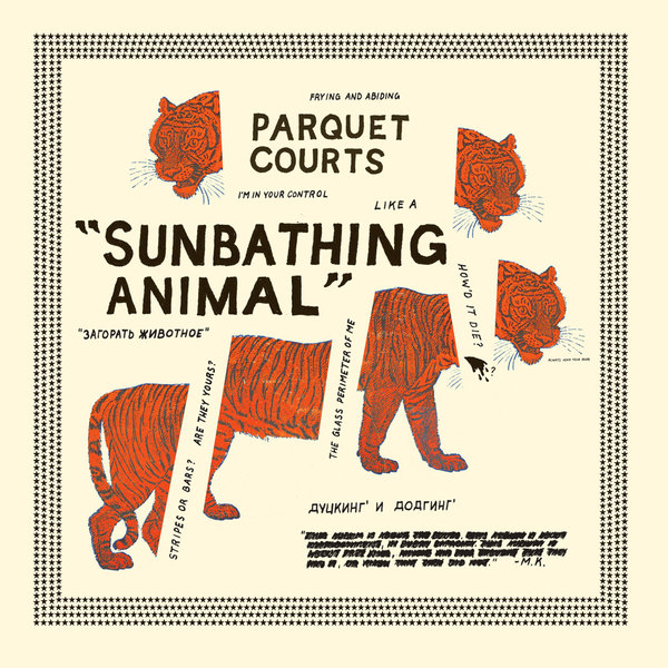 Parquet Courts 'Sunbathing Animal'