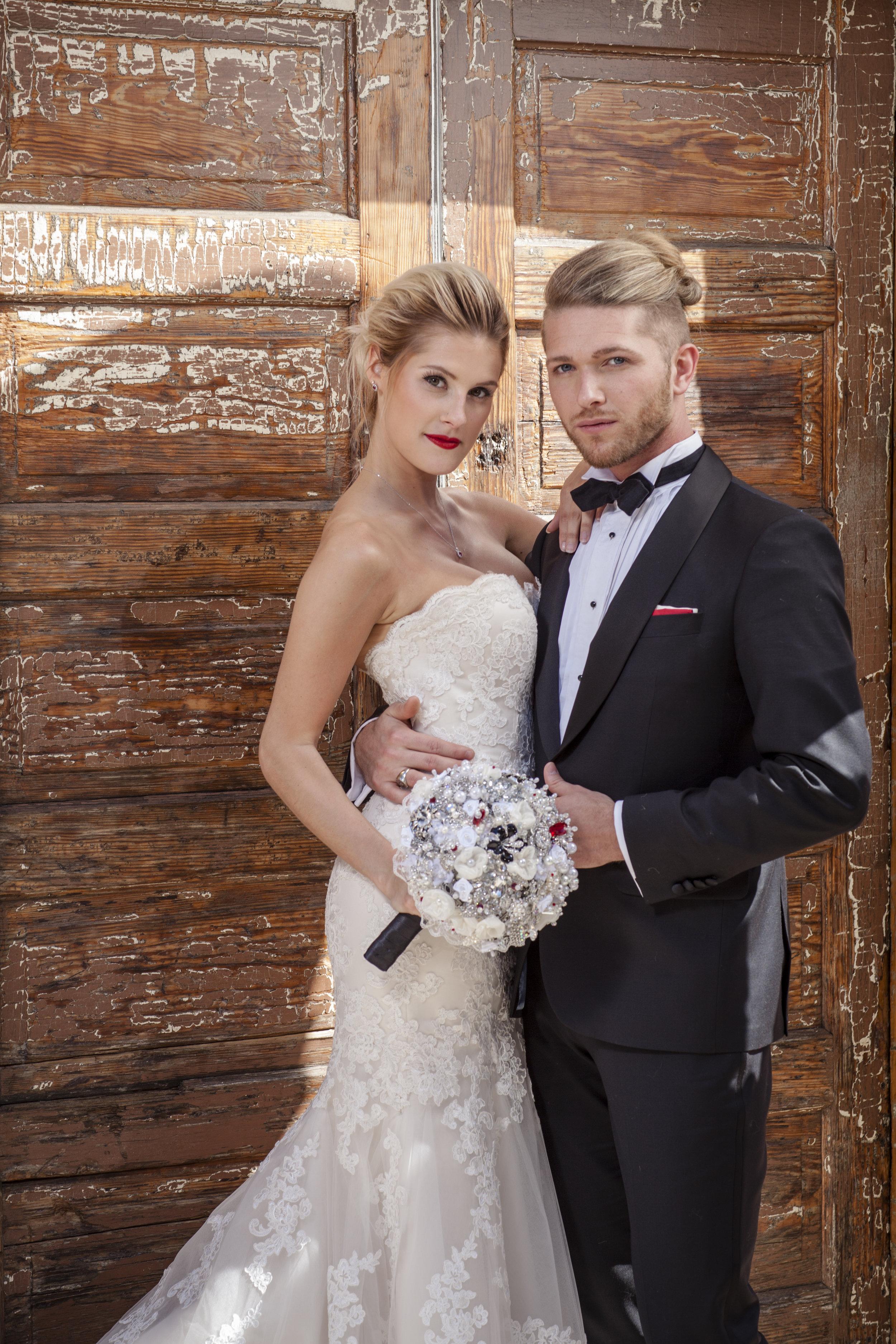 The Wedding planner magazine photo shoot