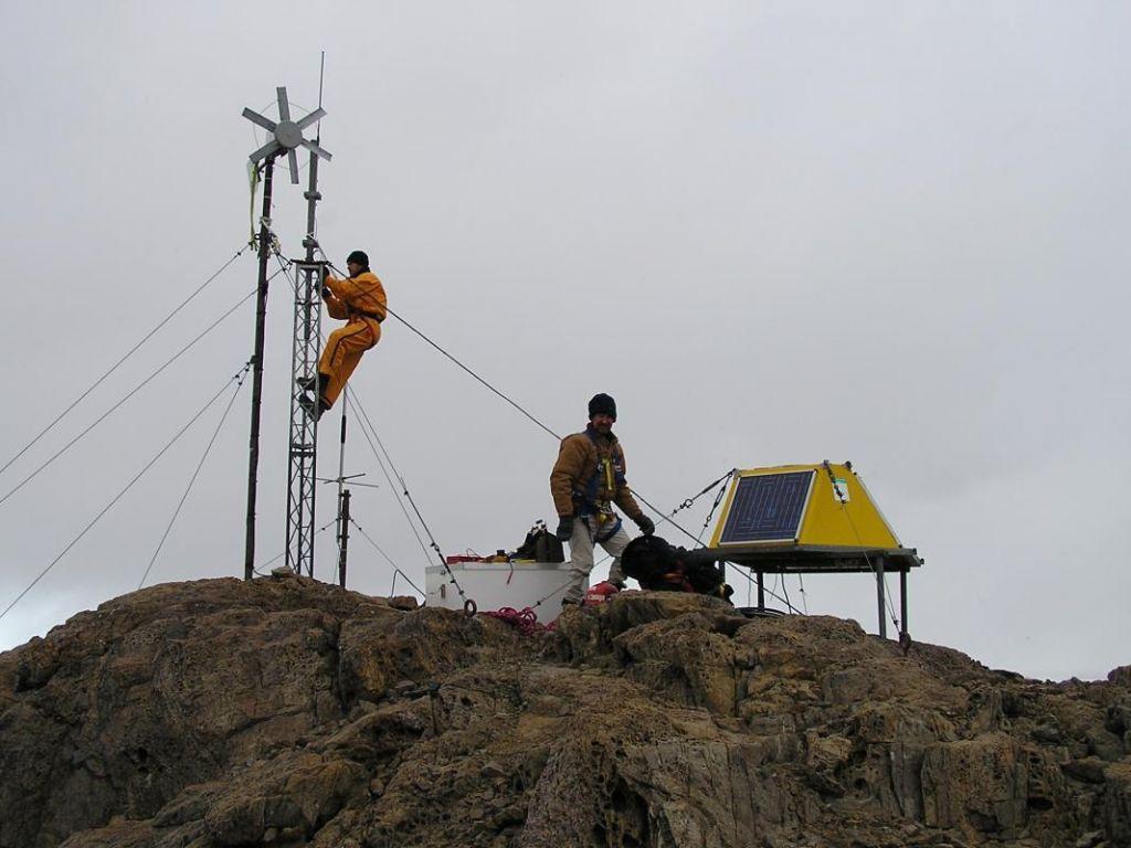 Antarctic weather station