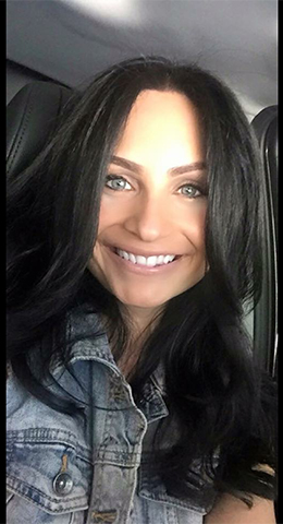 Tiffany Garcia - bronzing specialist.  Tiffany lives in Methuen, MA and services the Merrimack Valley.